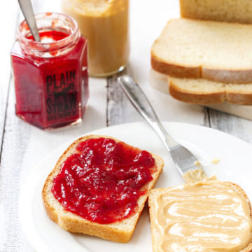 Ultimate Scratch-Made Peanut Butter and Jelly Sandwiches